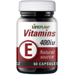 Vitaminas E 400 TV Lifeplan kapsulės N60