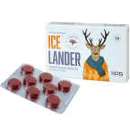 IceLander minkštosios pastilės skaudančiai gerklei N16