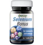 Maisto papildas Selenium Bonus Lifeplan tabletės N30