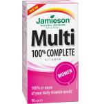 Maisto papildas Jamieson Multi Complete moterims kapsulės N90