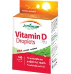 Maisto papildas Jamieson D vitamino lašai suaugusiems 1000 IU 11.4ml