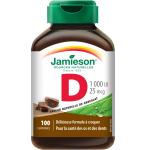 Maisto papildas Jamieson D vitaminas suaugusiems kramtomosios tabletės N100