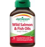 Maisto papildas Jamieson Wild Salmon žuvų taukai,1000mg kapsulės N90