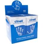 Servetėlės antimikrobinės drėgnos rankoms CLINELL N100