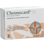 Chronocard N 80mg dengtos tabletės N100