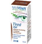 NAVIVISION Pavargusioms akims, akių lašai, 15ml