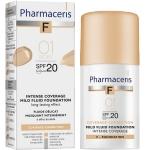 Pharmaceris F intensyviai dengianti maskuojanti pudra SPF20 Nr.1