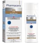 Pharmaceris H dvigubo poveikio specialus šampūnas skatinantis plaukų augimą bei nuo pleiskanų Stimuclaris 250ml