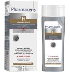 Pharmaceris H specialus dvejopo poveikio šampūnas lėtinantis žilimo procesą ir skatinantis plaukų augimą Stimutone 250ml