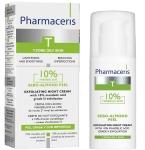 Pharmaceris T Sebo - almond peel 10% kremas - pilingas su migdolų rūgštimi 50ml