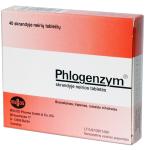 Phlogenzym skrandyje neirios tabletės N40