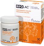 Maisto papildas Bifolac kramtomosios tabletės N30