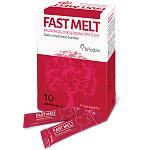 Maisto papildas Fast Melt pieno rūgšties bakterijų ir vitamino D milteliai raudonųjų uogų skonio 1g N10