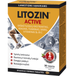 Maisto papildas Litozin Active tabletės N30