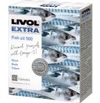 Maisto papildas Livol Extra Žuvų taukai kapsulės N40