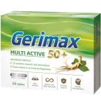 Maisto papildas Gerimax Multi Active 50+ tabletės N60