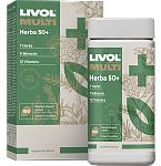 Maisto papildas Livol Multi Herba 50+ tabletės N100
