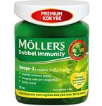 Maisto papildas Moller's Dobbel Immunity kapsulės N100