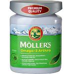 Maisto papildas Moller's Omega - 3 Arthro kapsulės N76