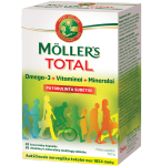 Maisto papildas Moller's Total kapsulės N28/28