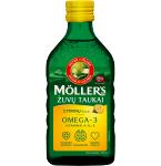 Maisto papildas Moller's žuvų taukai citrinų skonio 250ml