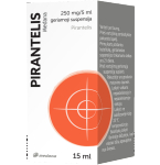 Pirantelis Medana 250mg/5ml geriamoji suspensija 15ml