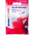Jordan Clinic tarpdančių šepetėlis Brush Between S 0.5mm N10 (raudonas)