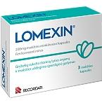 Lomexin 200mg makšties minkštosios kapsulės N3
