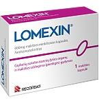 Lomexin 600mg makšties minkštosios kapsulės N1