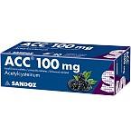 ACC 100mg šnypščiosios tabletės N20