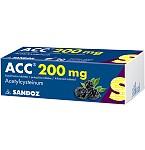 ACC 200mg šnypščiosios tabletės N20