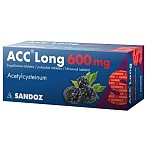 ACC Long 600mg šnypščiosios tabletės N10