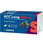 ACC Long 600mg šnypščiosios tabletės N6