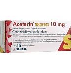 Aceterin express 10mg plėvele dengtos tabletės N10