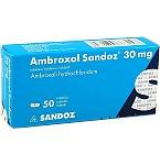Ambroxol Sandoz 30mg tabletės N50