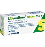 Lopedium Express 2mg kapsulės N10