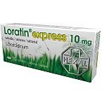 Loratin express 10mg tabletės N10