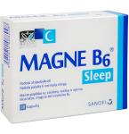 Maisto papildas Magne B6 Sleep kapsulės N30