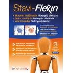 Stavi - Flexin skausmą malšinantis hidrogelinis pleistras 8x12cm N3