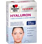 Maisto papildas DOPPELHERZ Hyaluron +Q10+Vitamin C+Zink+Biotin kapsulės N30