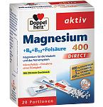 DOPPELHERZ Magnesium 400 Direct N20