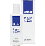 Linola Shower and Bath Oil dušo ir vonios aliejus 200ml