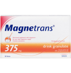 Magnetrans 375mg granulės gėrimui paruošti N20