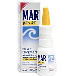 Mar plus 5% nosies priežiūros purškalas 20ml