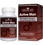 Natures Aid Active Man tabletės N60
