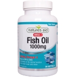 Natures Aid Fish Oil 1000mg kapsulės N90