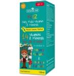 Natures Aid Kidz Daily Multi - Vitamin & Minerals geriamasis skystis 150ml