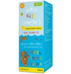 Natures Aid Kidz Omega - 3 geriamasis skystis 150ml