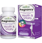 Natures Aid Pregnancy Daily Multi - nutrient formula tabletės N60