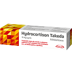 Hydrocortison Takeda 10mg/g gelis 10g